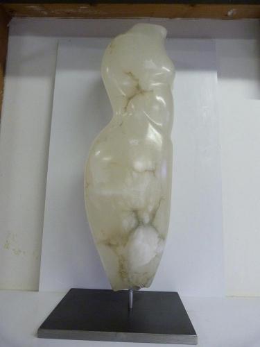 Witte Transparante Albast