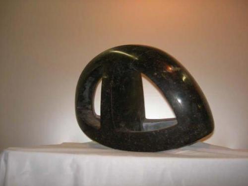 2007 Twist, Kunstwerk van Belgisch hardsteen
